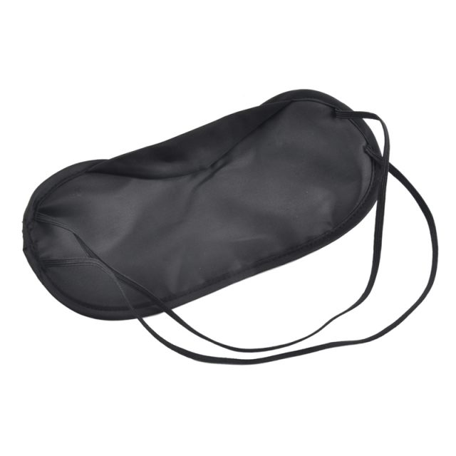 Black Travel Sleeping Eye Masks Set