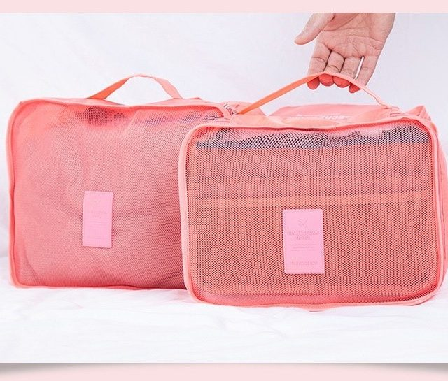 Nylon Travel Bags Set
