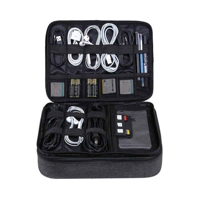 Travel Organizer for Cables