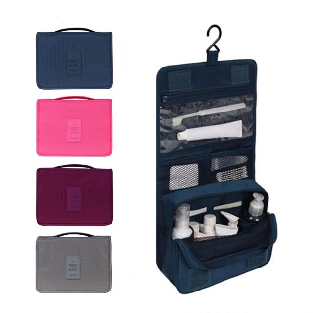 Hanging Travel Cosmetic/Toiletry Organizer Bag